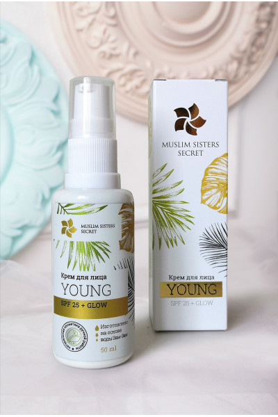 Солнцезащитный крем для лица YOUNG GLOW SPF 25+